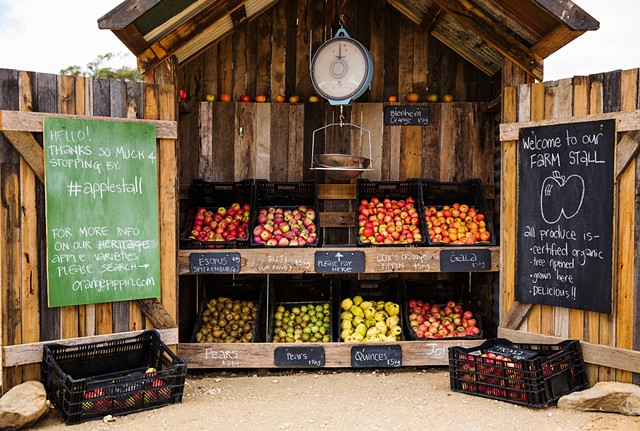Daylesford Apple Stall, Daylesford