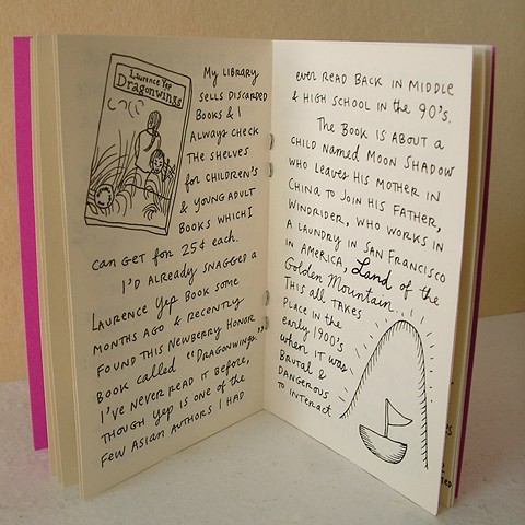 Minutiae No. 4 Zine by Aijung Kim www.sprouthead.etsy.com