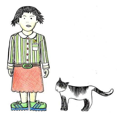 Munchie & Crumb the Cat