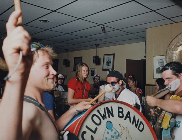 Allie, Servicemen's Club, After Land of the Loon Parade, Virginia, Minnesota 2017