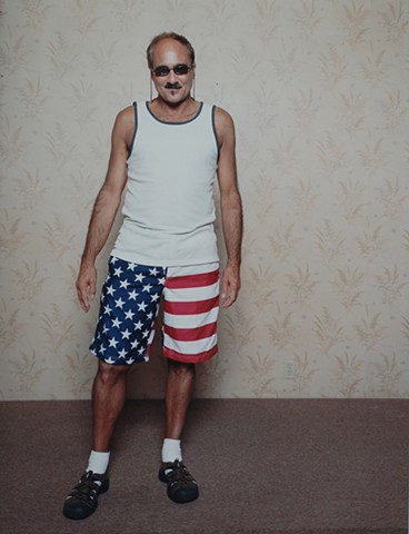 Tony, July 4th, Eveleth, MN From: Iron Range Portrait Days 2015