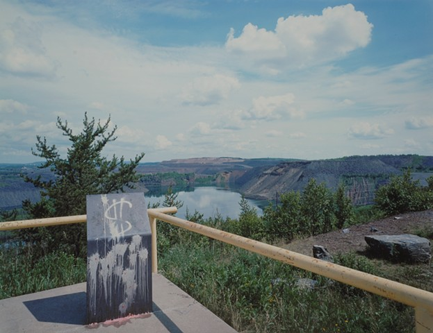Thunderbird Mine from Leonidas Overlook, Eveleth, Minnesota 2019
