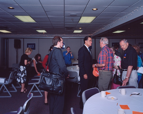 "Governor Mitt Romney, ""Ask Mitt Anything"" Breakfast, DMACC Campus, Newton, Iowa. May 21, 2007."