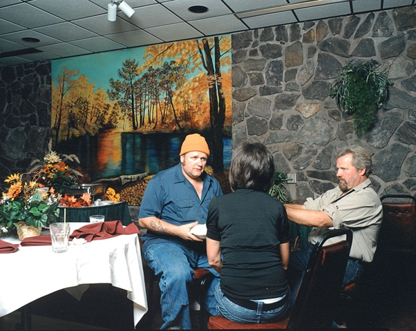 Langer, Joni & Paul, Fall Meeting, Rustic Rock Supper Club, Eveleth, Minnesota 2009