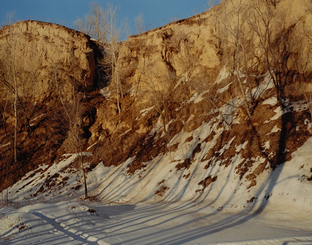 Devil's Slide, Behind Mo's House, Missouri Valley, Harrison County, Iowa 2001
