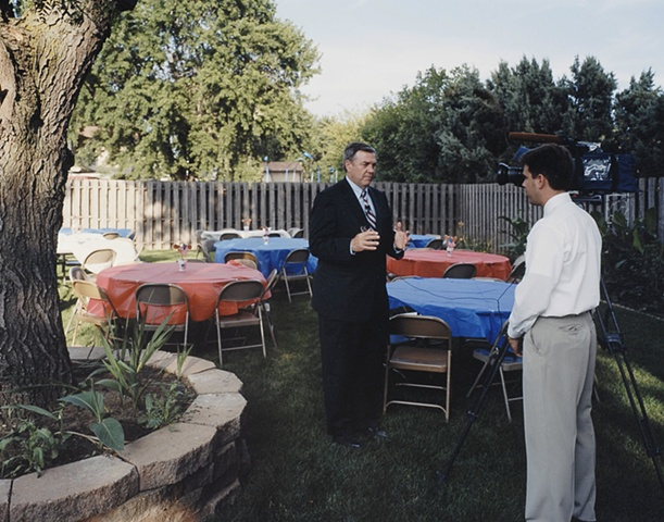 Congressman Duncan Hunter, House Party, Home of Steve and Kim Carlson hosted by the Iowa Christian Alliance, Sioux City, Iowa. July 21, 2007.