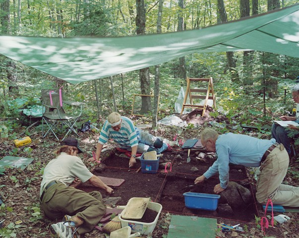 Volunteers, Woodland Indian Site, Big Rice Lake, Minnesota 2003