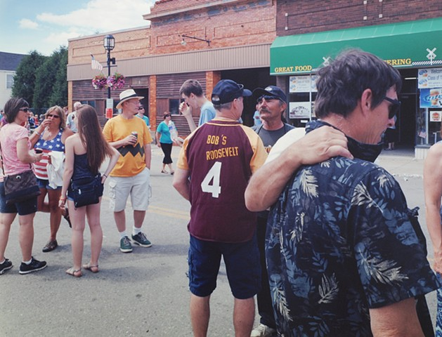 July 4th, Grant Ave., Eveleth, Minnesota 2014