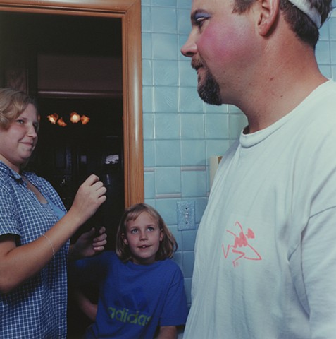 Jamie, Kara and Paul, Eveleth, Minnesota 2000