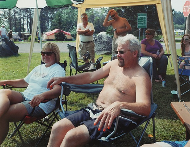 Vickie and Paul, Heritage Days, Two Harbors, Minnesota 2015