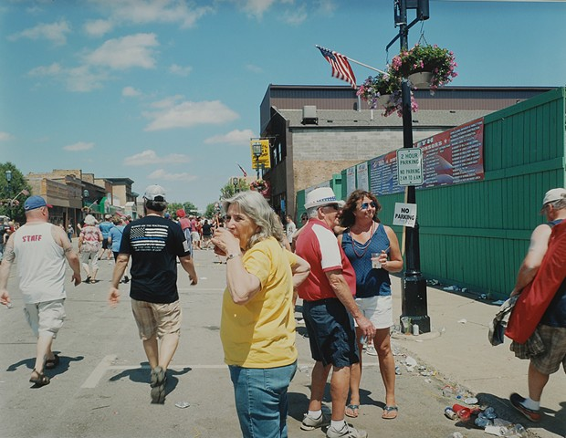 July 4th, Grant Ave., Eveleth, Minnesota 2017
