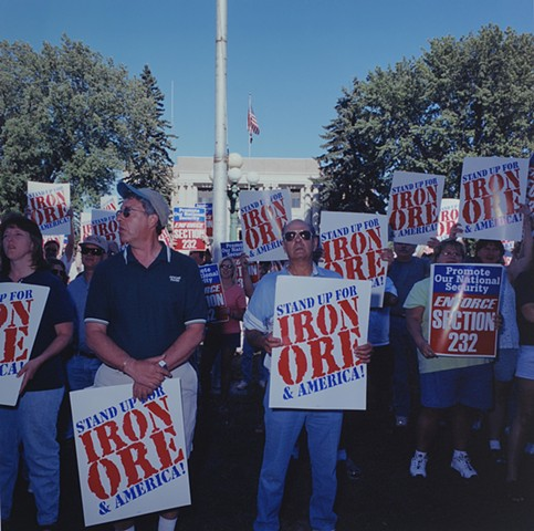 Stand Up For Steel Rally, July 5th, Virginia, MN 2000