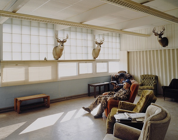 Karl, Central Flyway Outfitters, Formerly Kramer School, Closed 1991, Kramer, North Dakota 2003