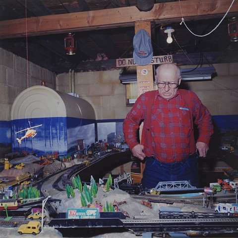 Cyril's Trains, Hutter, Minnesota 1996