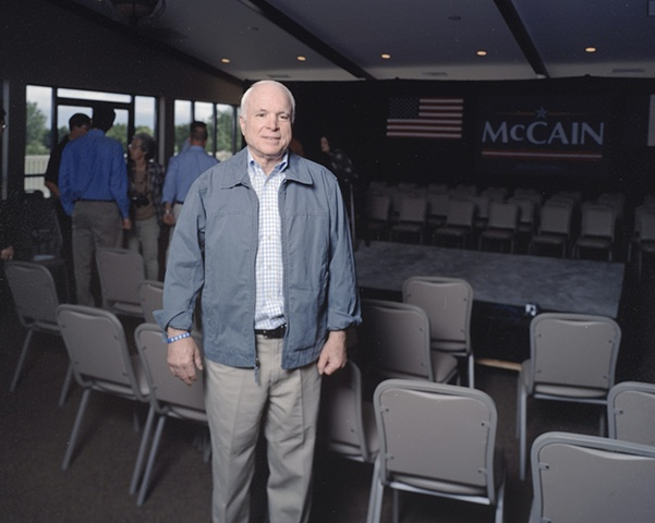 Senator John McCain, Breakfast and Town Hall Meeting, Le Mars Municipal Golf Course, Le Mars, Iowa. June 2, 2007