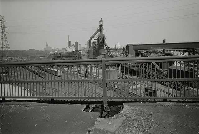 Clark Avenue Bridge, Cleveland, Ohio 1979
