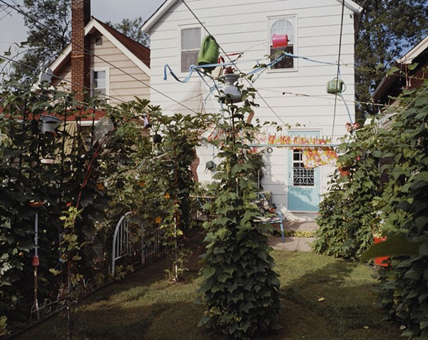 Kotzy's Backyard and Garden, Eveleth, Minnesota  2003