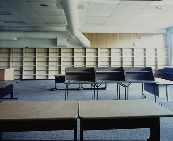 Library, Albrook School, Closed 2011, Saginaw, Minnesota 2012