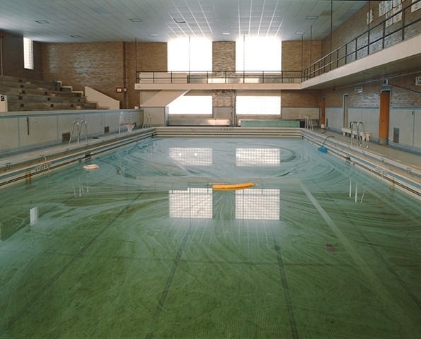 Natatorium, V. C. Reishus School, Closed 2003, Biwabik, Minnesota  2003