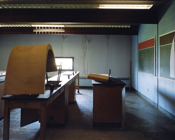 Science Room, Aneta School, Closed 1996, Aneta, North Dakota  2004