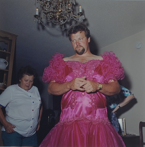 Paul's new dress, Eveleth, Minnesota 1999