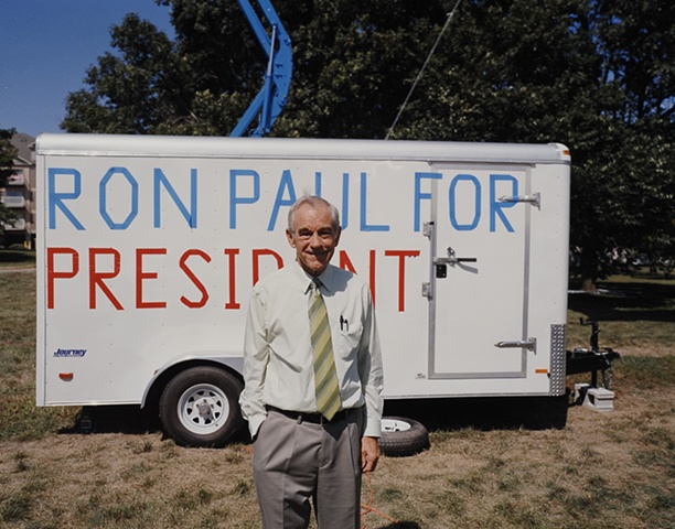 Congressman Ron Paul, Republican Straw Poll, Ames, Iowa.  August 11, 2007.  Withdrew March 6, 2008