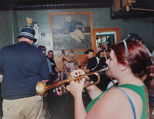 Clown Band Reunion, Margie's Roosevelt, Eveleth, Minnesota 2016
