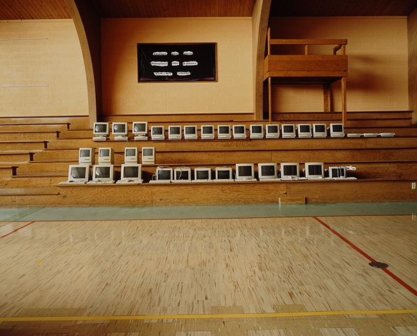 Auction, Upham School, Closed 2003, Upham, North Dakota  2003
