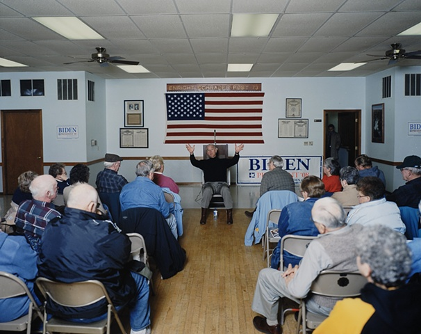 Joe Biden Meet and Greet, American Legion Post 73, Tama, Iowa, December 8, 2007.