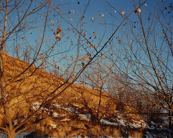 Moonrise Behind Mo's House, Missouri Valley, Harrison County, Iowa 2000