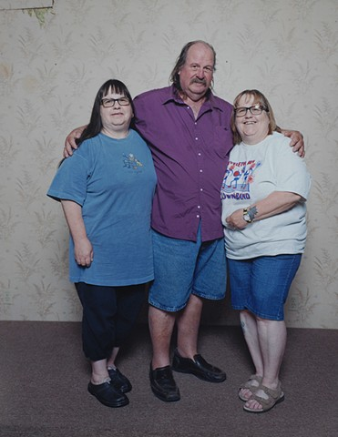 Shirley and Sharon with their brother Jack, July 7, 2015