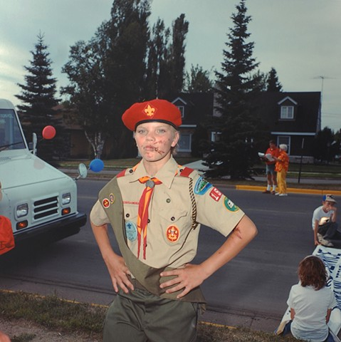 Boy Scout, July 3rd, Aurora, MN 1988
