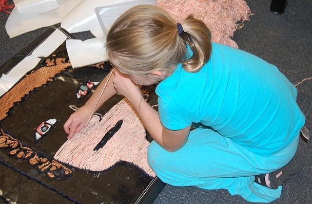 after school fiber art project