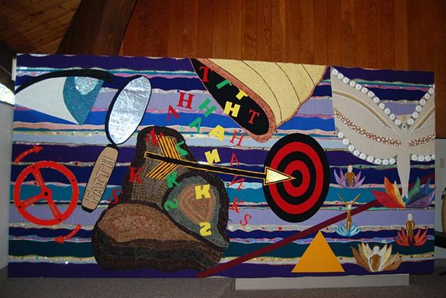 Collaborative Community Spiritual Mural