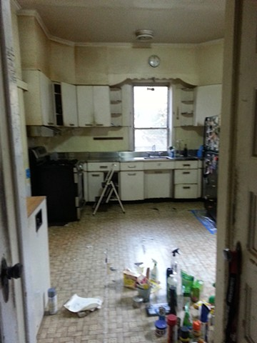 Before picture of Brooklyn Townhouse Kitchen