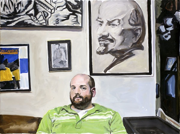 Yevgeniy Fiks: Portrait of Adam Tenney, Communist Party USA
