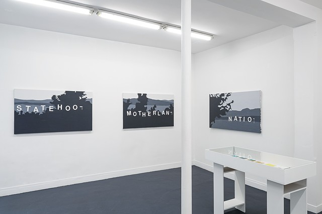Landscapes of the Jewish Autonomous Region, installation shot 6