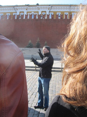 Yevgeniy Fiks: American Communists in Moscow Walking Tour