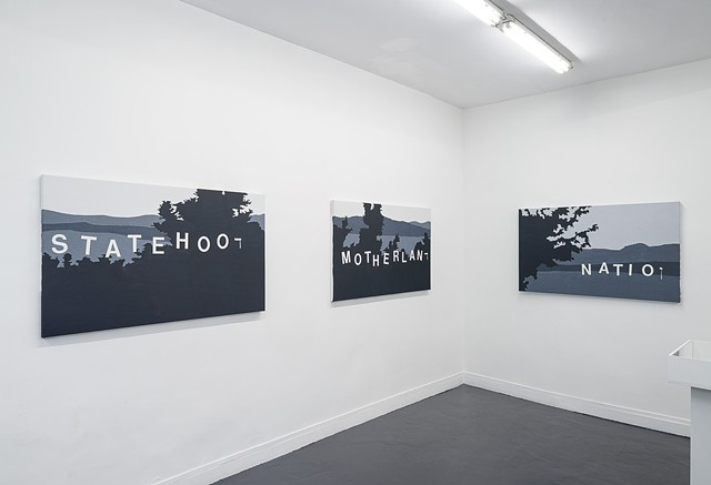 Landscapes of the Jewish Autonomous Region, installation shot 5