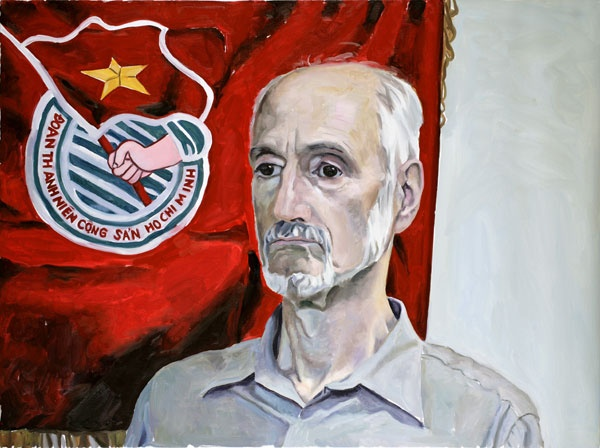 Yevgeniy Fiks: Portrait of Gabe Falsetta, Communist Party USA