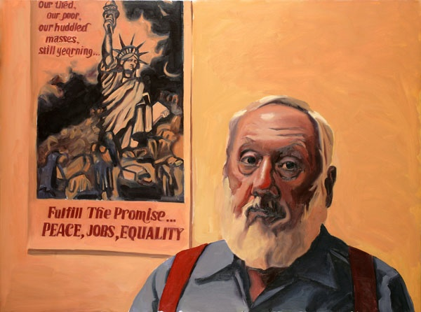 Yevgeniy Fiks: Portrait of Bill Davis, Communist Party USA