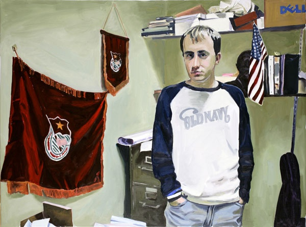 Yevgeniy Fiks: Portrait of Dan Margolis, Communist Party USA