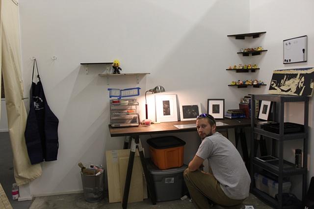 Artist Luke Vehorn moving into private studio at Redux Contemporary Art Center