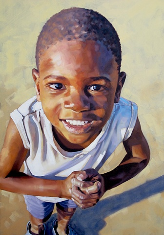 Artist Luke Vehorn Original Oil Painting Positive Change Project Contemporary Portrait Painter