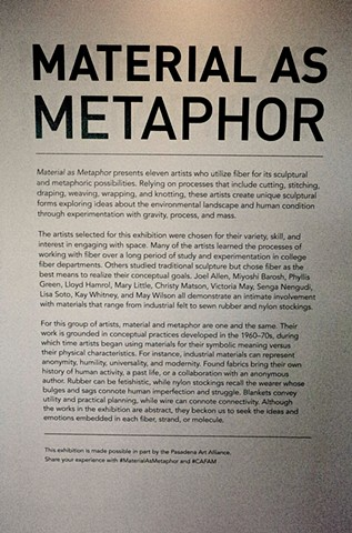 Material as Metaphor
