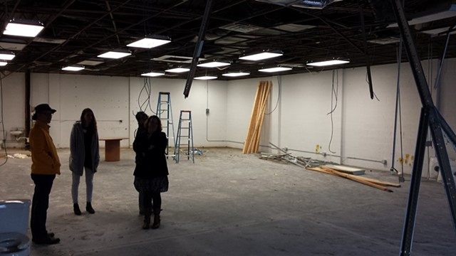 In May of 2017 we renovated our first space- an abandoned warehouse in the Benton Harbor Arts district.