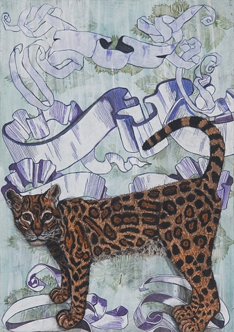 'Ocelot and Scrolls'