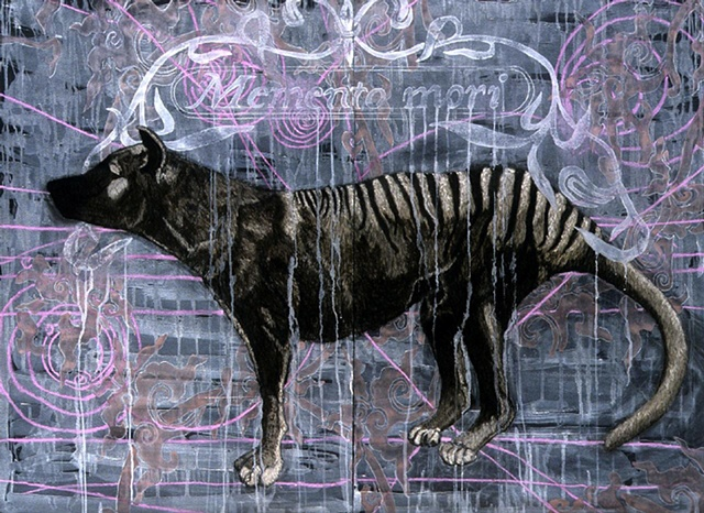 'Extinction Series- Tasmanian Tiger'