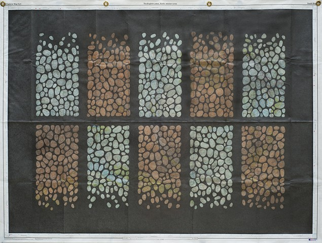 Ten Pebble Panels