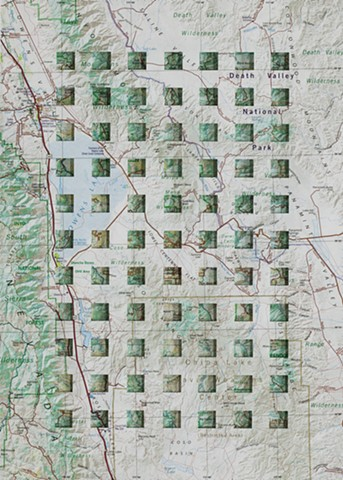 Map Page Cut Squares